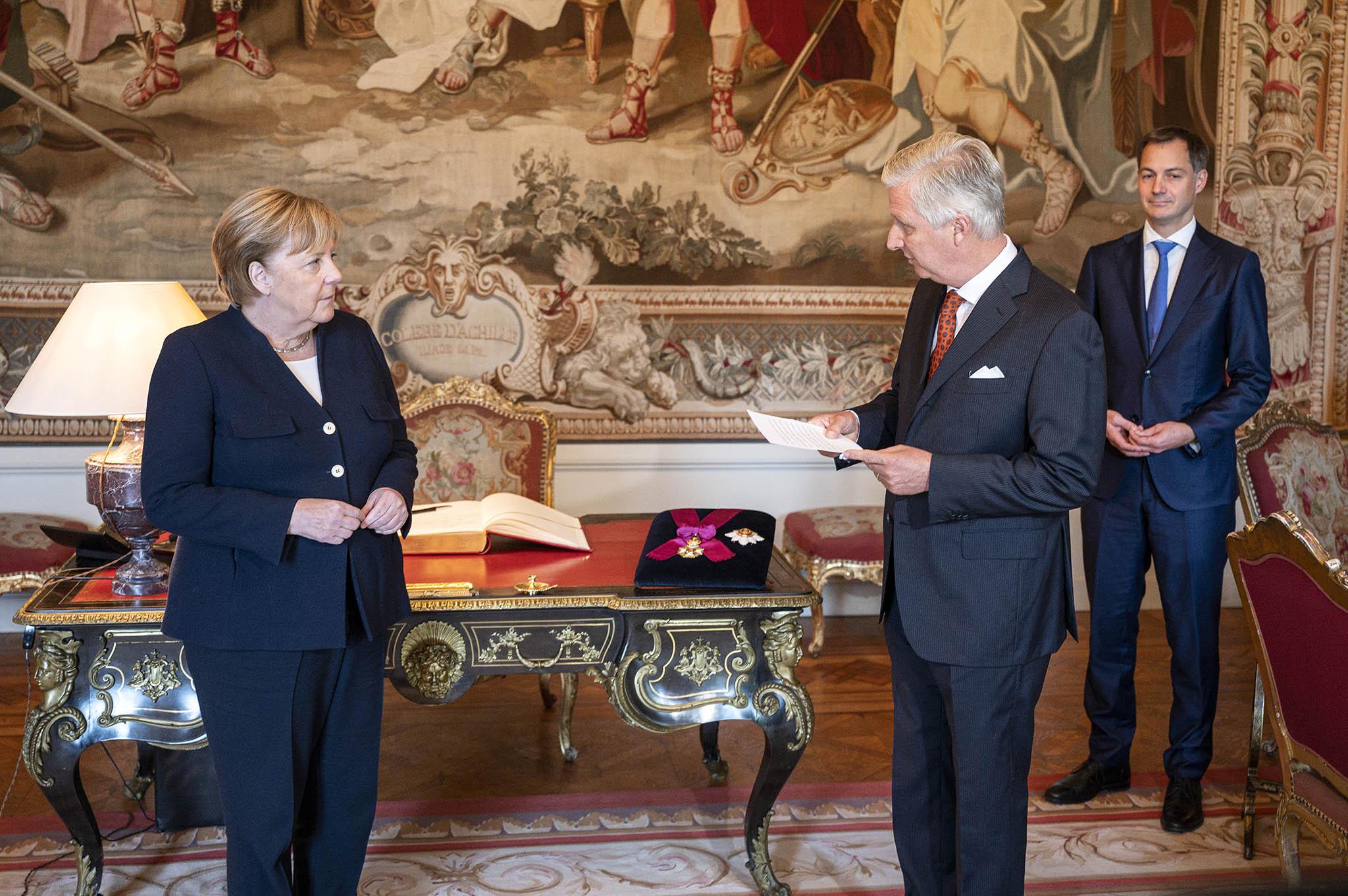 Deutschland ist froh über die Freundschaft mit Belgien