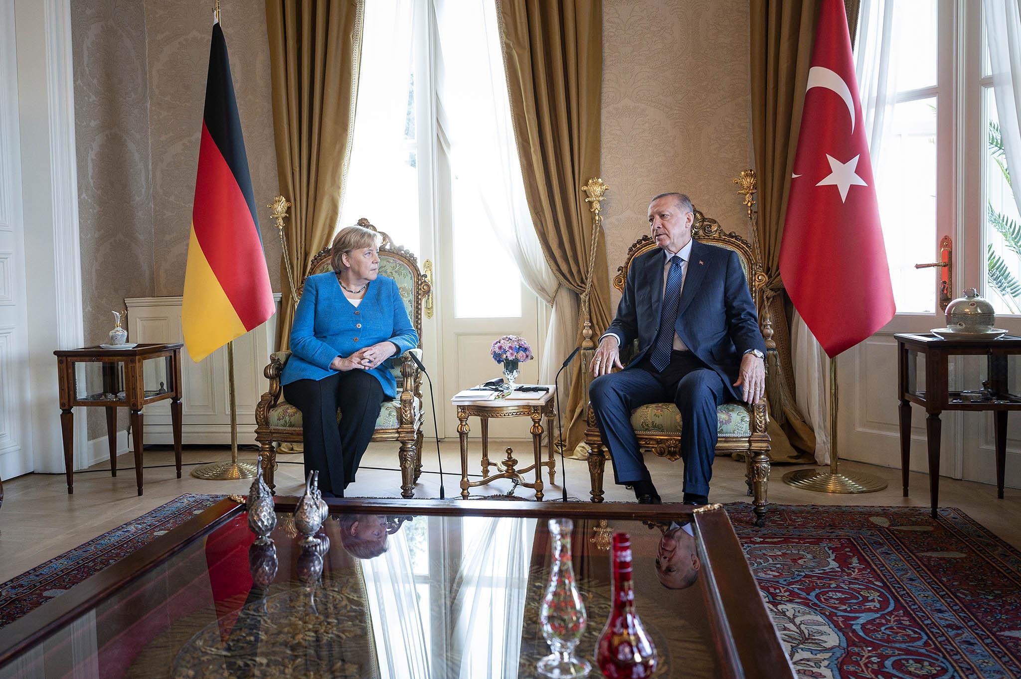 Gespräche über Klimaschutz und deutsch-türkische Beziehungen