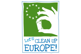 Logo Let's Clean Up Europe 2018