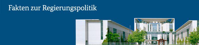 Logo Fakten der Regierungspolitik