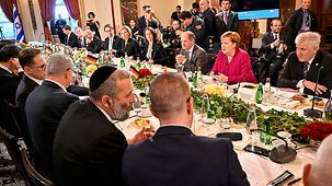 Plenary session of the German-Israeli government consultations