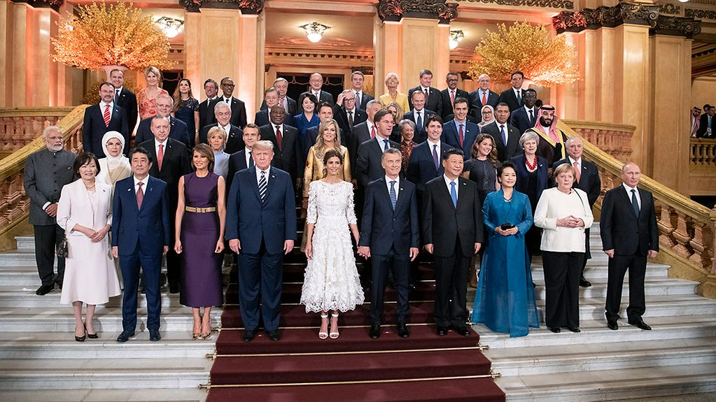 G20 leaders in Buenos Aires