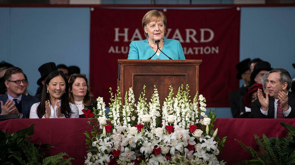 Chancellor's Speech At Harvard