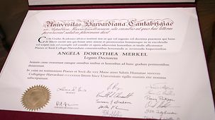 The degree certificate