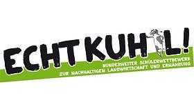 Logo Echt Kuhl Bundesweiter Schülerwettbewerb zur Nachhaltigen Landwirtschaft und Ernährung