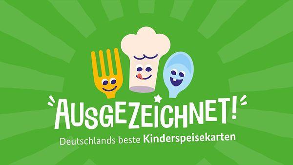 Logo Ausgezeichnet! Deutschlands beste Kinderspeisekarten