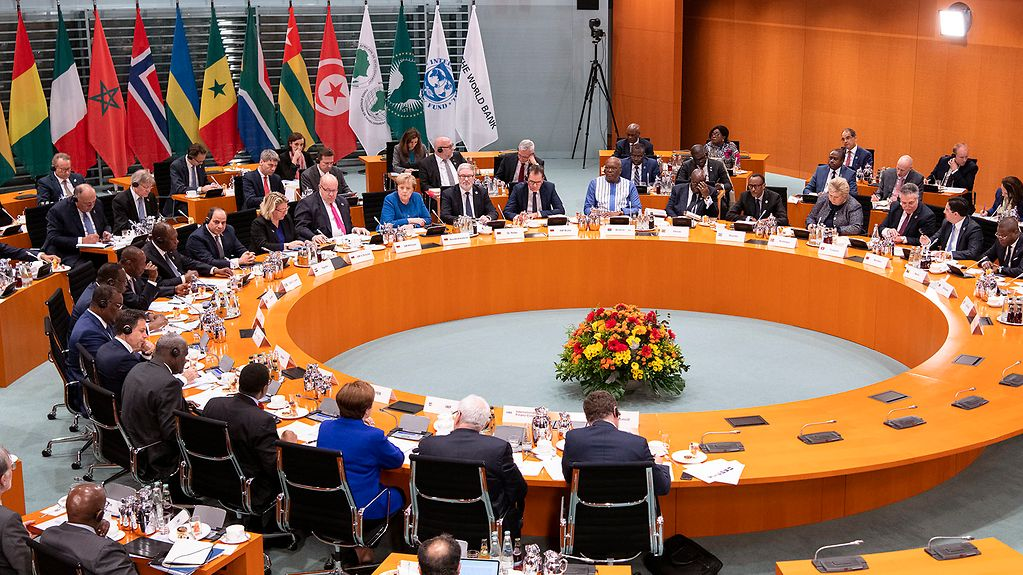 """Compact with Africa"" conference at the Federal Chancellery"