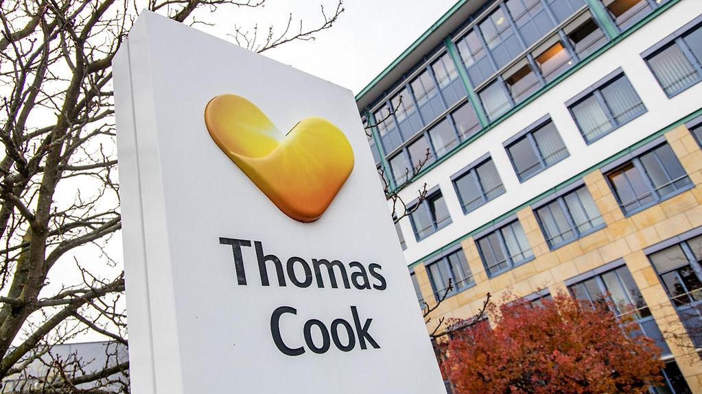 Head office of Thomas Cook in Oberursel