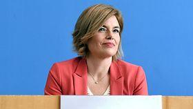 Foto zeigt Bundeslandwirtschaftsministerin Julia Klöckner