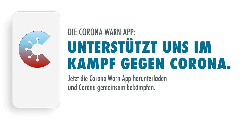 Corona-Warn-App Unterstrützen Sie Uns im Kampf Gegen Corona