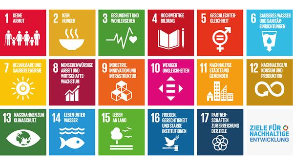 Die 17 globalen Ziele für nachhaltige Entwicklung der Agenda 2030, die Sustainable Development Goals (SDGs), richten sich an alle: die Regierungen weltweit, aber auch die Zivilgesellschaft, die Privatwirtschaft und die Wissenschaft.