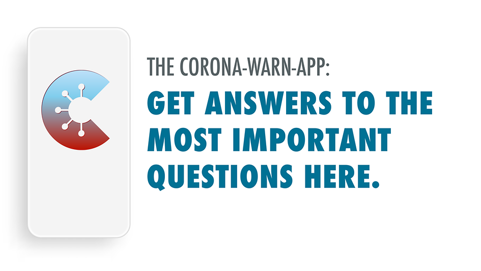 Corona-Warn-App: Get Answers to the most important questions here.