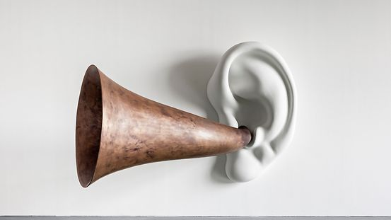 John Baldessari Beethoven's Trumpet (With Ear) Opus # 133