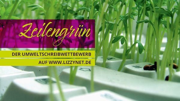 Logo Umweltschreibwettbewerb Zeilengrün