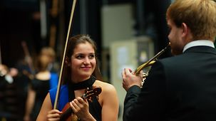 Musiker des European Youth Orchestra