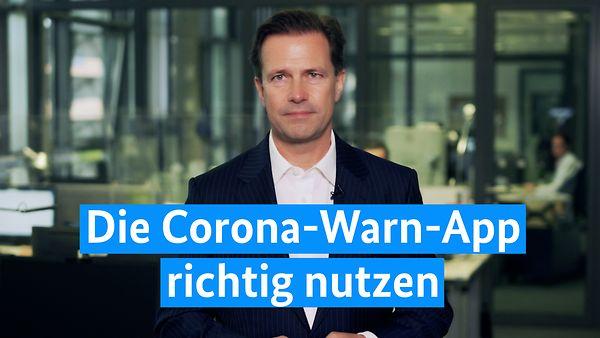 Die Corona-Warn-App richtig nutzen