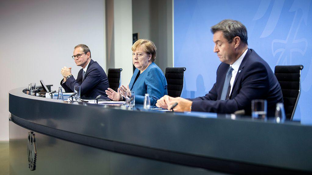 Pressekonferenz Bundesregierung Heute