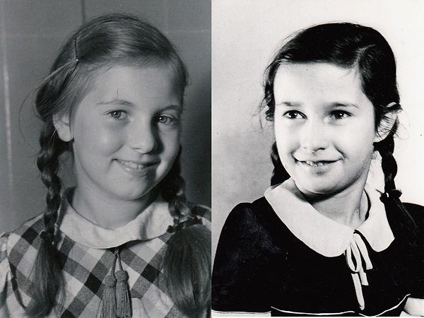 Portraits von Thea (1930 – 1942) und Ruth (1931 – 1942) Fuss