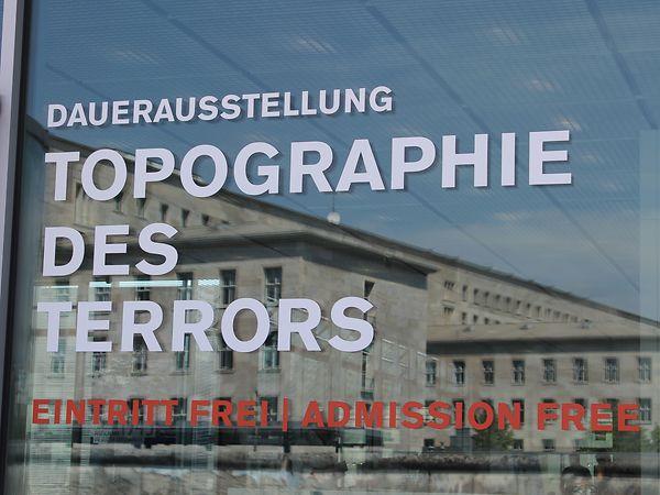 Dauerausstellung der Topographie des Terrors