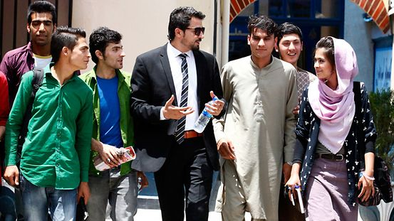 Afghans future leaders the young men and women of one of Kabuls colleges KABUL, 24 June 2015 Gesellschaft Ausbildung Studium
