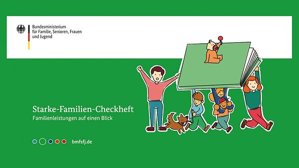 Cover Starke Familien Checkheft