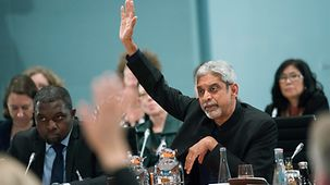 Vikram Patel von der indischen Public Health Foundation und der London School of Hygiene and Tropical Medicine.
