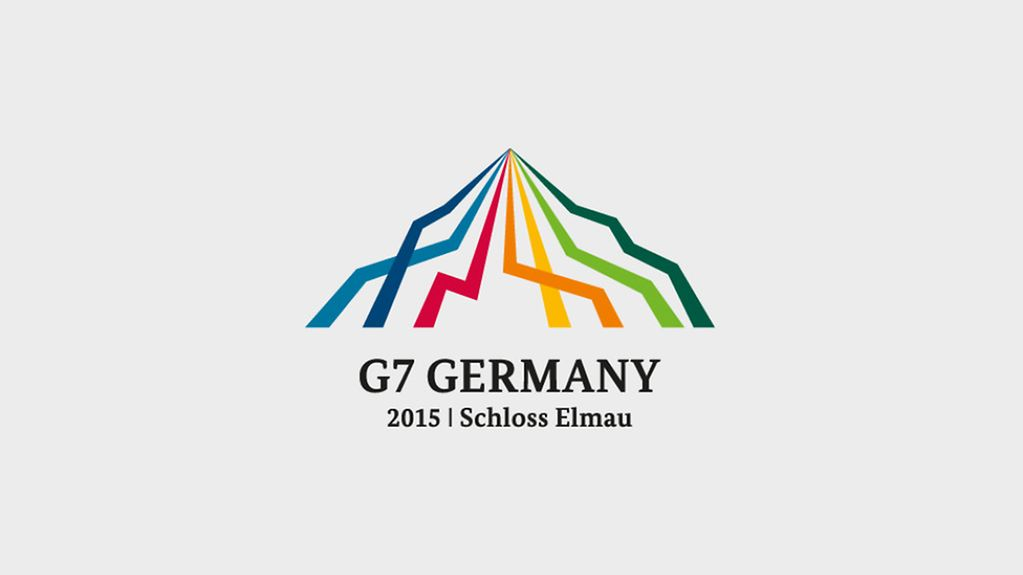 Logo of the G7 summit 2015