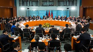 Plenary session of the Sino-German government consultations