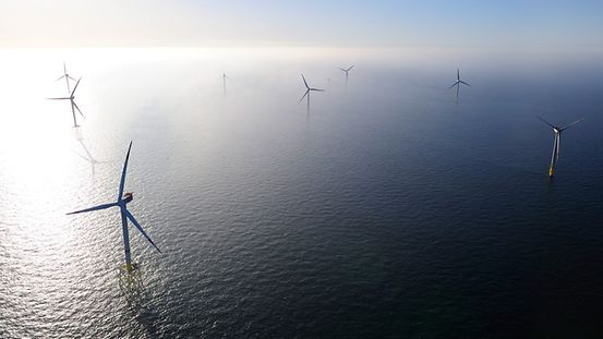 Windenergie, alternative Energie, Windkraft, Windkraftanlage Offshore, erneuerbare Energie, Strom, Wind.