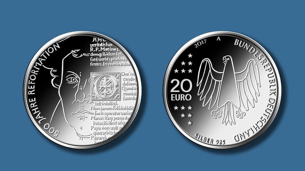 Bundesregierung Aktuelles Luther In Silber Gold Und Portugues
