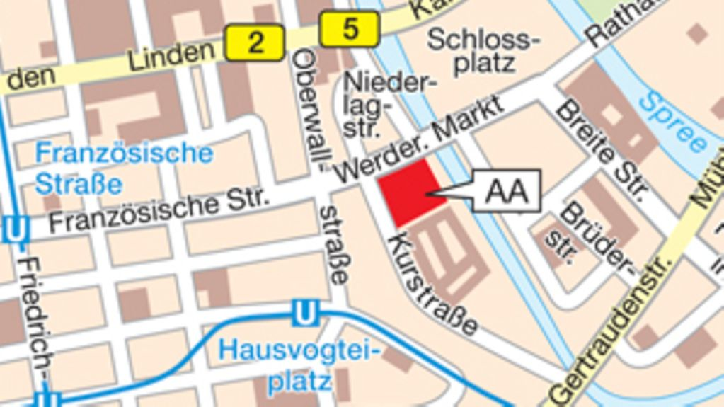 How to find the AA in Berlin
