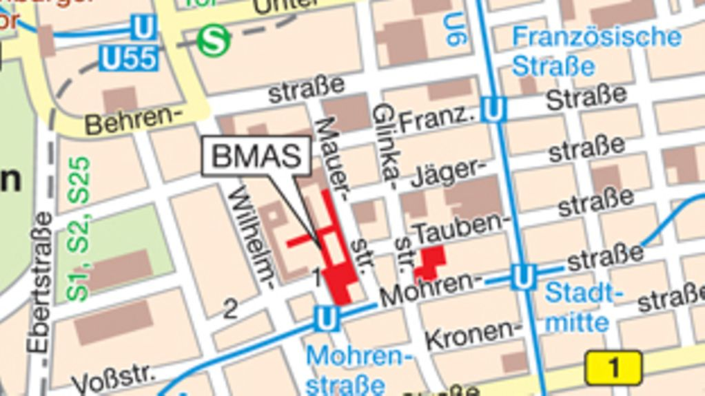 How to find the BMAS in Berlin