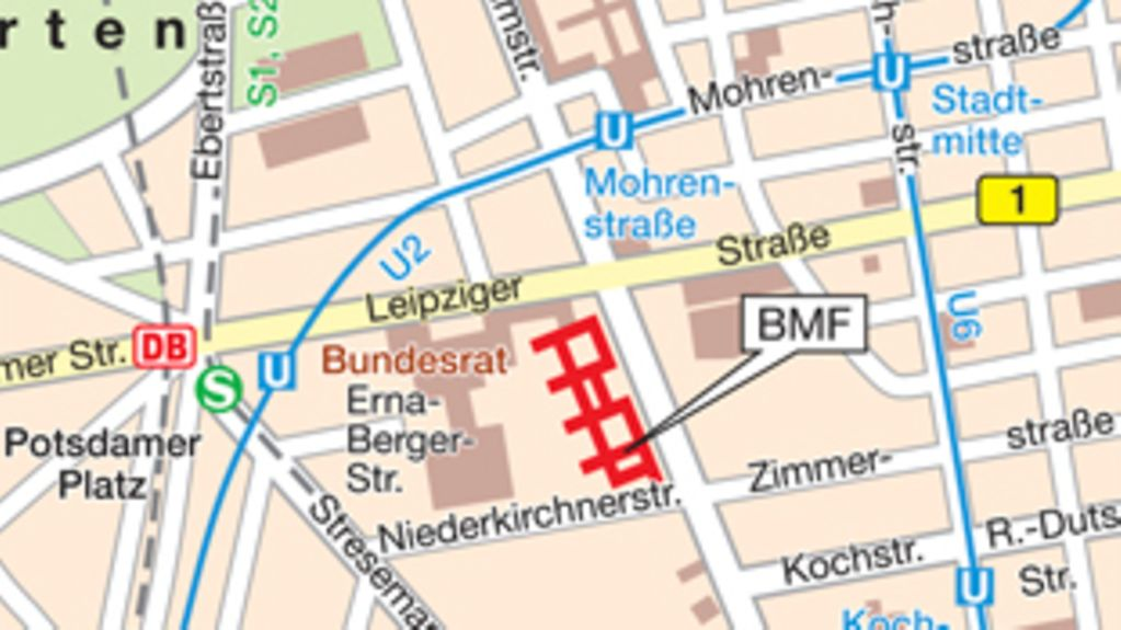 How to find the BMF in Berlin