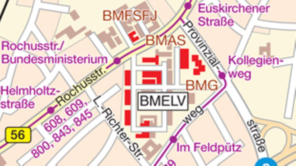 How to find the BMLEV in Bonn