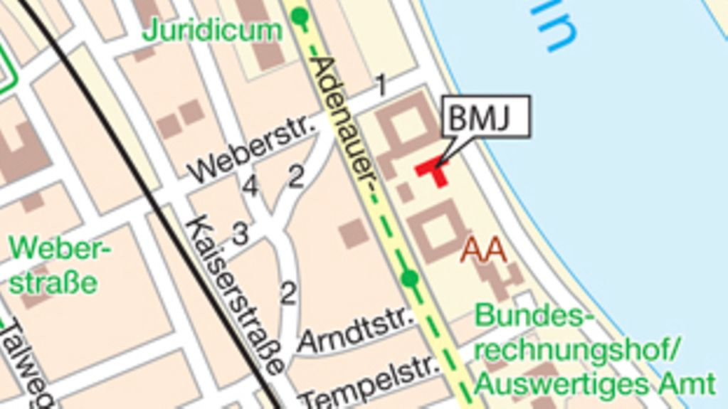 How to find the BMJ in Bonn