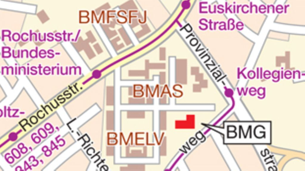 How to find the BMG in Bonn
