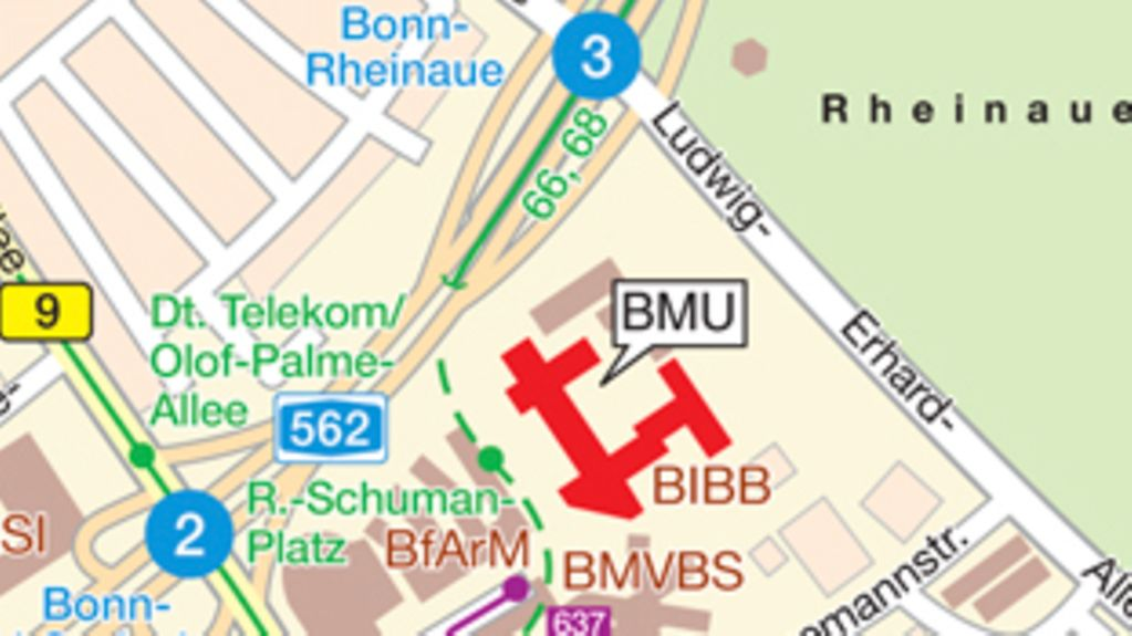 How to find the BMU in Bonn