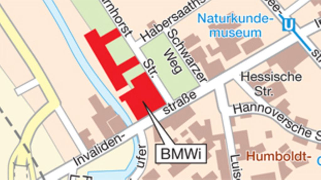 How to find the BMWi in Berlin