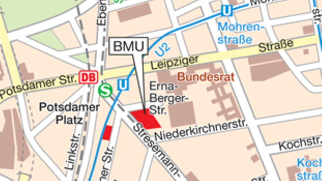 How to find the BMU in Berlin