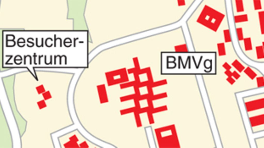 How to find the BMVg in Bonn