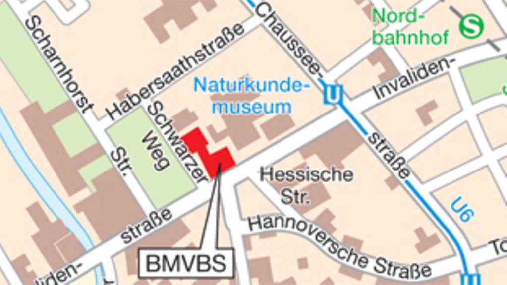 How to find the BMVBS in Berlin
