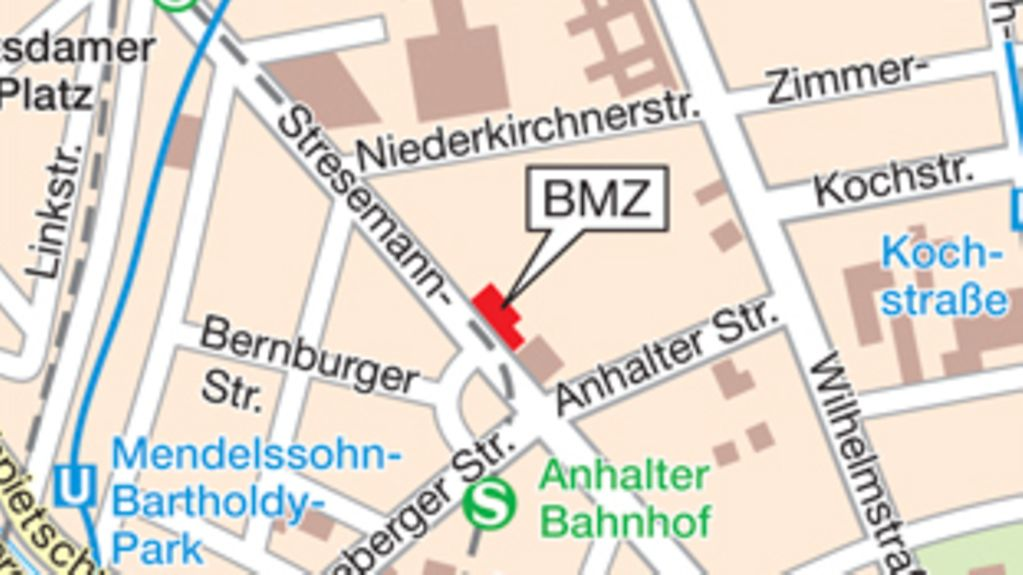 How to find the BMZ in Berlin